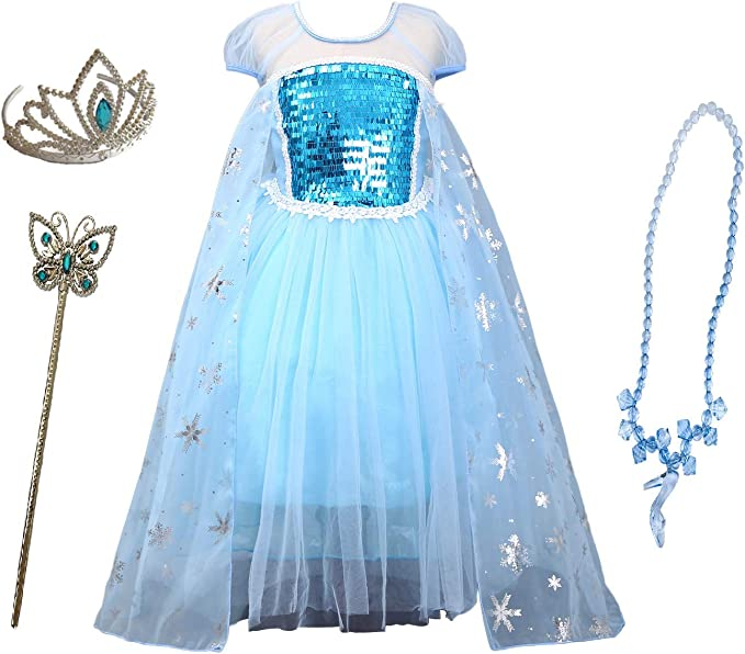Amazon.com: Disfraz de princesa Frozen de la Reina de la ...