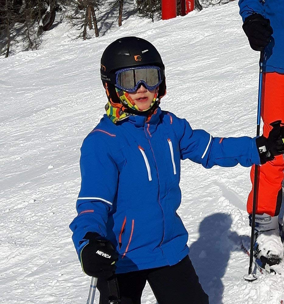 Ski mask Balaclava under helmet protection Ruffnek ANIMAL CARTOON FACES SCARF Multifunctional Neck warmer Horse Riding Scarf//helmet bandana Boys /& Girls One Size