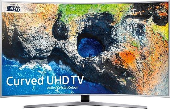 SAMSUNG Ue55mu6500uxxu de 55 Pulgadas de Smart TV uhd Curvo: Amazon.es: Electrónica
