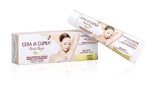 Amazon.com: Cera Di Cupra Hair Removal Cream Bikini and Underarm: Health & Personal Care