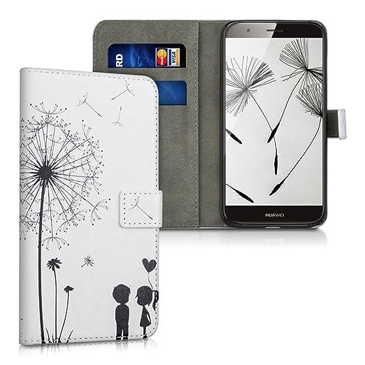 14 opinioni per kwmobile Custodia portafoglio per Huawei G8 / GX8- Cover a libro in simil pelle