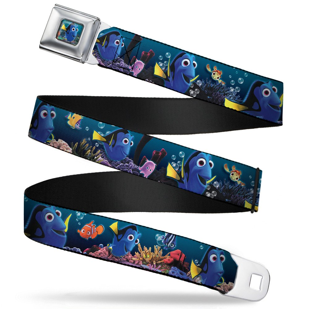 Buckle Down girls Buckle-down Seatbelt Belt Finding Nemo Xl