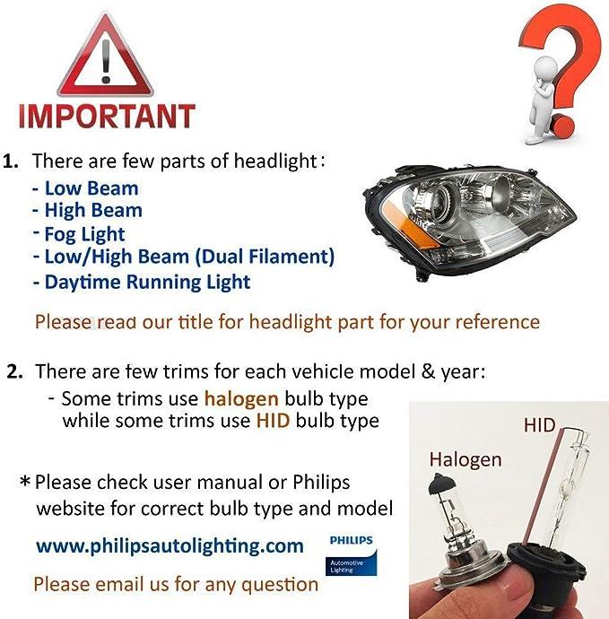 Lastre m/ódulo de HID Xenon Headlight d3 Kit de conversi/ón de la unidad de la computadora de control para BMW 3 Series F30 F31 F34 12-16 7316147