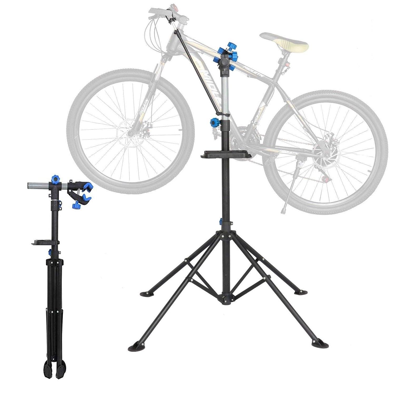 SpiritOne 調節可能 自転車 自転車 修理スタンド メカニックサイクル ラック 収納 ポータブル ツール   B07DL7PY2X