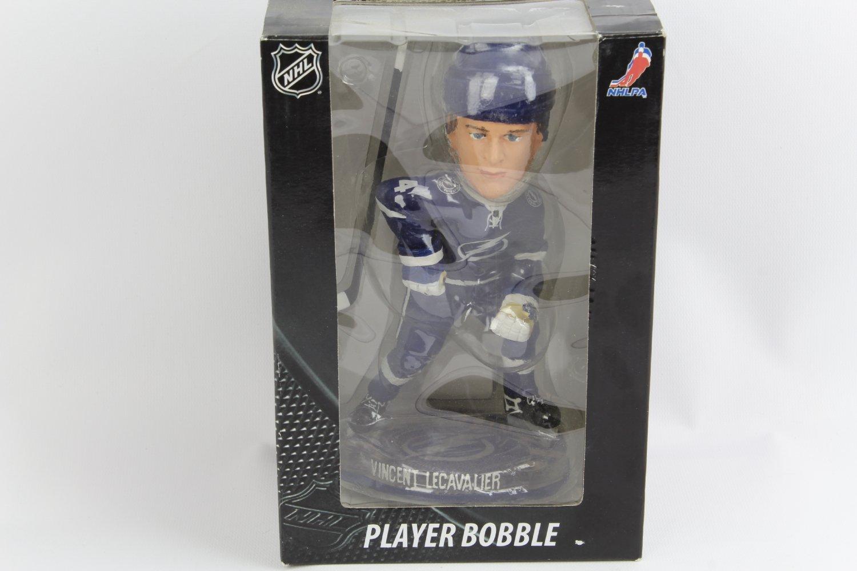 NHL Tampa Bay Lightning Lecavalier V. #4 Road 2012 Puck Base Bobble