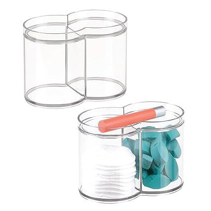 Oggetti In Plastica Per La Casa.Metrodecor Mdesign Set Da 2 Contenitori Plastica Impilabili Ideali