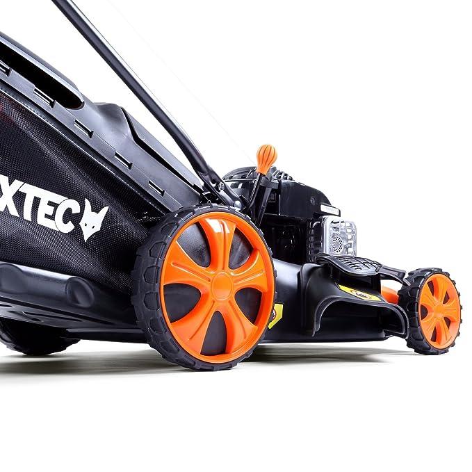 Fuxtec FX Cortacésped de gasolina de rm20bs con ...