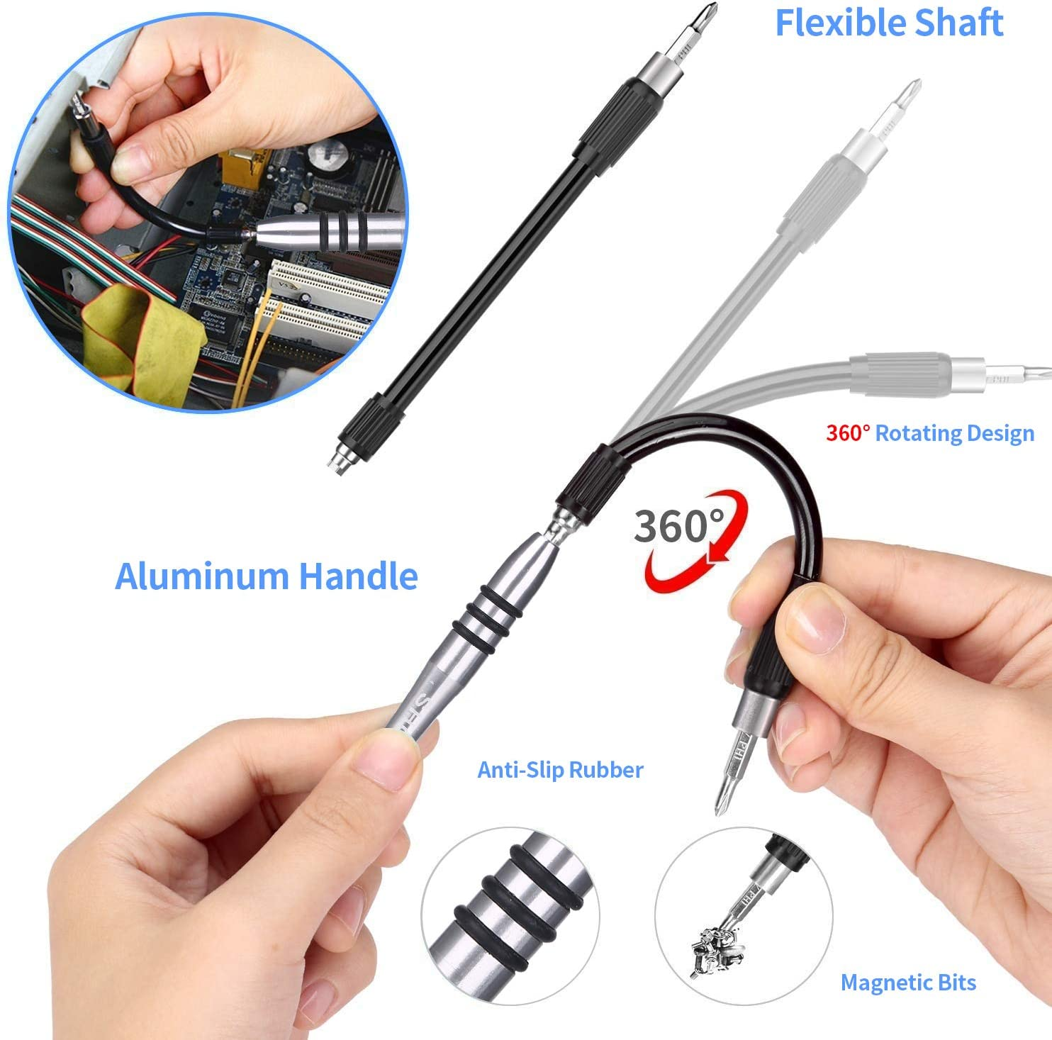 with 98 Magnetic Bit and 41 Repair Tools Professional Computer MacBook iPhone 139 in 1 Precision Screwdriver Set Suitable for Cell Phone Xbox and PC Repair Tablet Laptop Repair Tool Kit Set