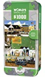 MasterPieces World's Smallest Jigsaw Puzzle Tin, Before the Big Game, Collectable Box, 1000 Mini Pieces, Assorted