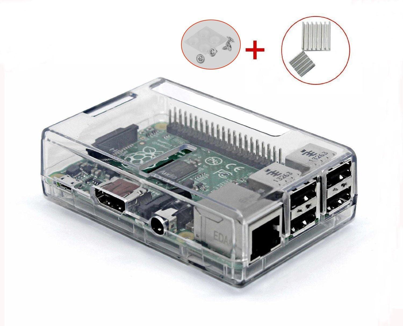 UTRO Carcasa de montaje para Raspberry Pi 3 Modelo B + Set de 2 ...