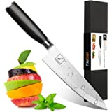Imarku 8 Inch Pro Chef's Knife,German High Carbon Stainless Steel Kitchen Knife with Sharp Blade and Ergonomic Handle