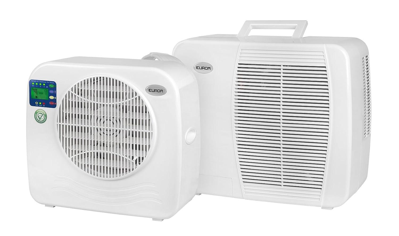 Euromac AC2400 Split Air Conditioning System White, 55 dB, 18 5 cm, 36 cm,  39 5 cm, 375 Watts, White