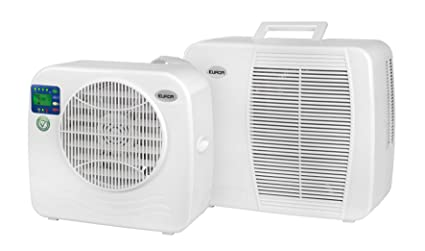 Euromac AC2400 Sistema split Color blanco - Aire acondicionado (375 W, 55 dB,