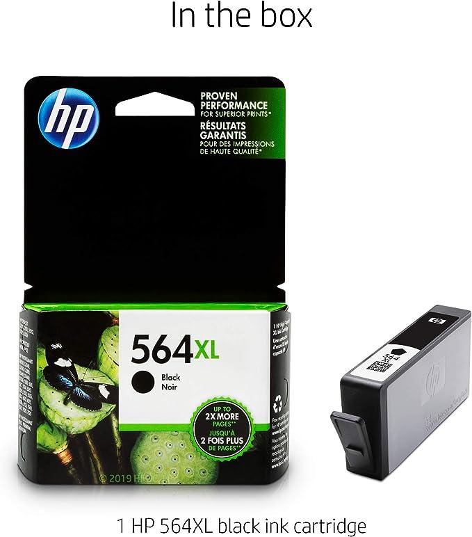RETAIL BOX PHOTOSMART 6510 6520 6525 5-PACK HP GENUINE 564 Black /& Color Ink