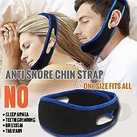 Generic Anti Snore Chin Strap Anti Apnea Solution Help Sleeping Aid Sleep Chin Belt Strap Support Stop Snoring Chin Strap For Women Men