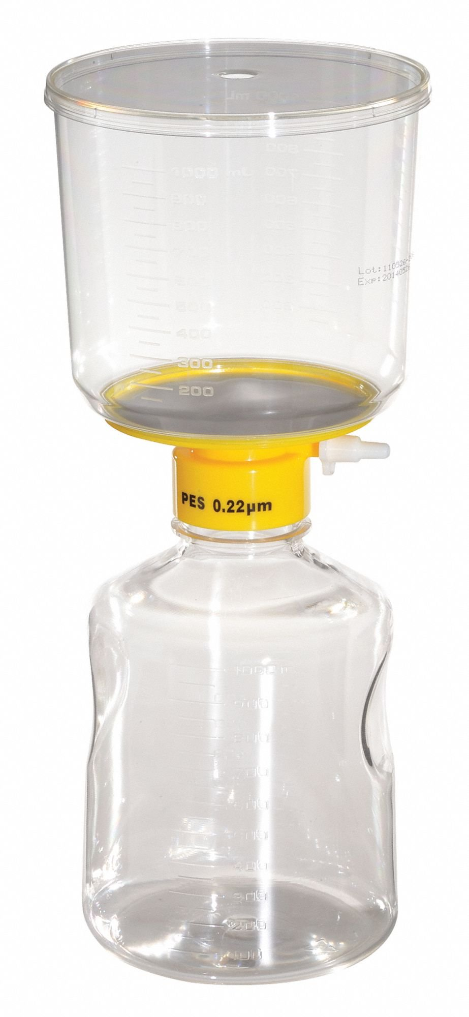 1000mL Filter Unit,0.22um,90mm,PK12