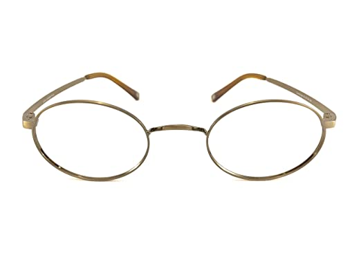 bbe4ce3c9b6 Image Unavailable. Image not available for. Color  John Lennon Cambridge Eyeglass  Frame - Antique Gold