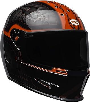 Amazon.es: Bell Helmets Eliminator Cascos de Moto, Hombre, Negro/Rojo, Small