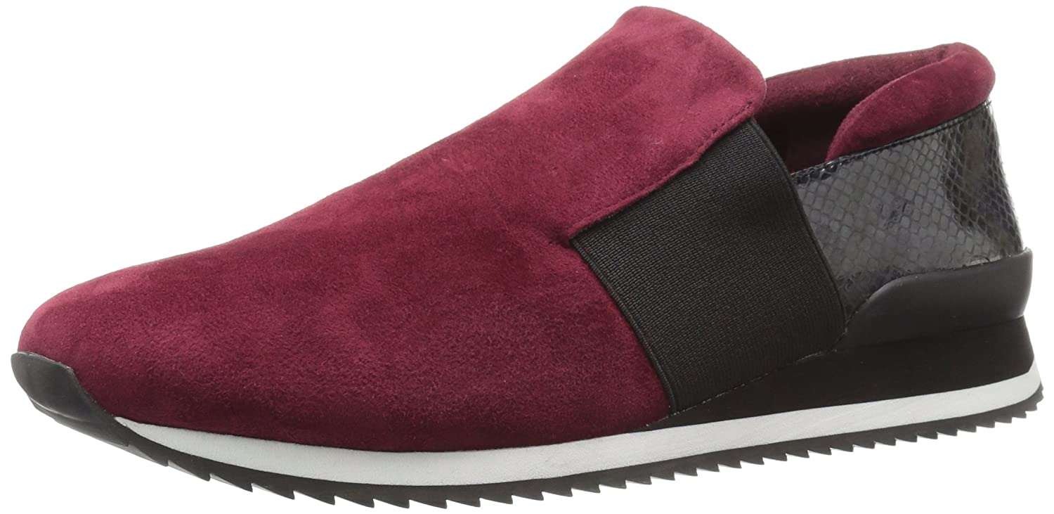 Bella Vita Women's Ezra Fashion Sneaker B01JPOLJN8 10 W US|Burgundy Kid Suede