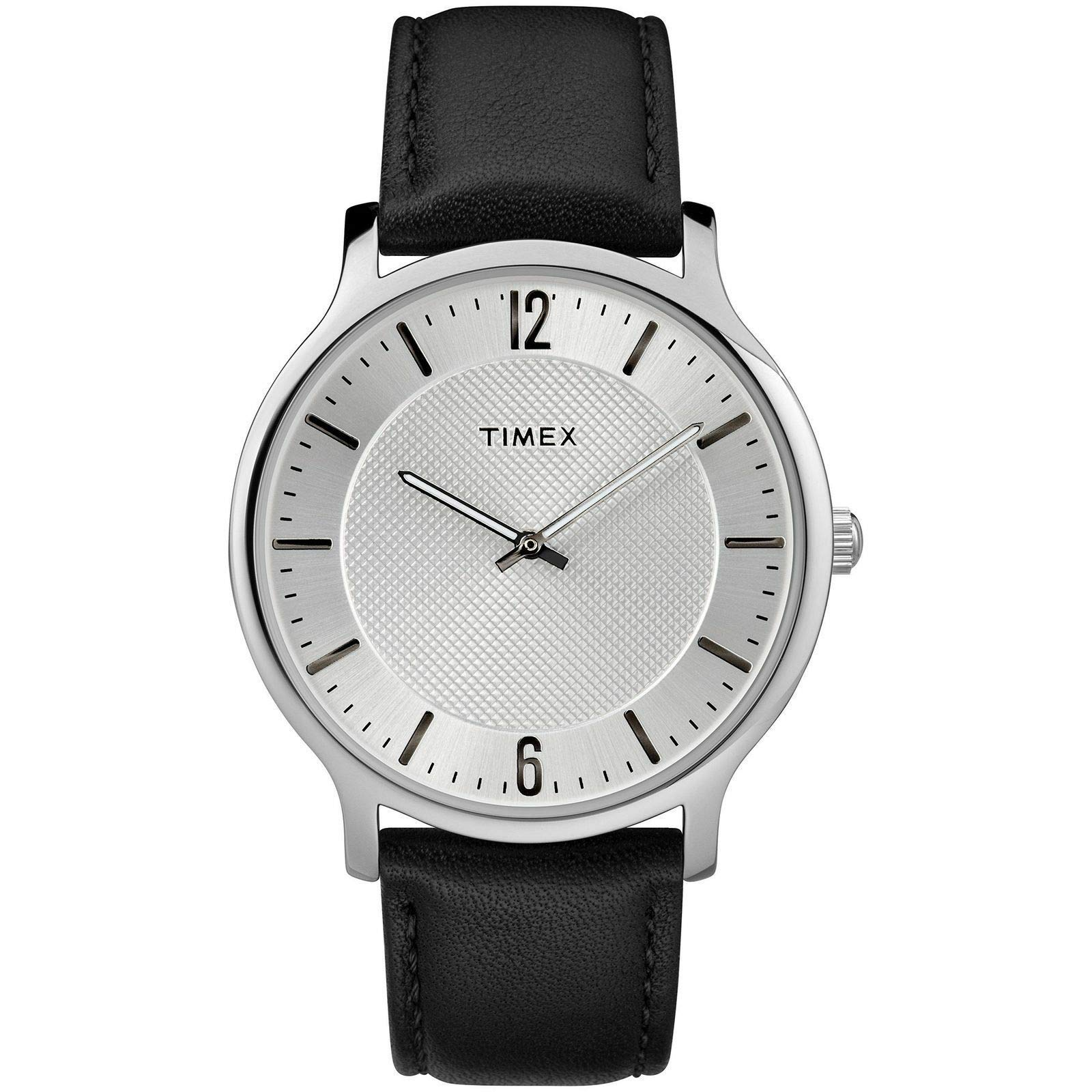 Timex Mens Analogue Classic Quartz Watch with Leather Strap TW2R50000