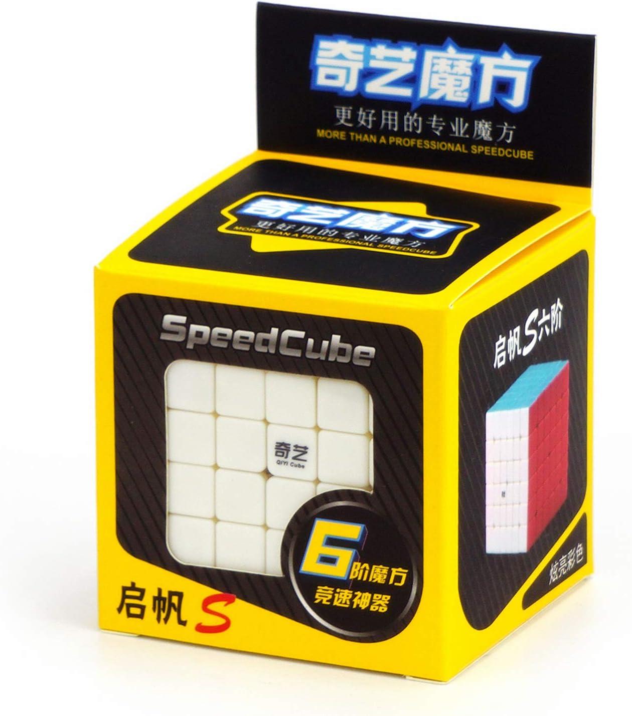 LiangCuber Qiyi 6x6 Stickerless Speed Cube Qiyi Qifan S 6x6x6 Magic Cube Puzzle Toy
