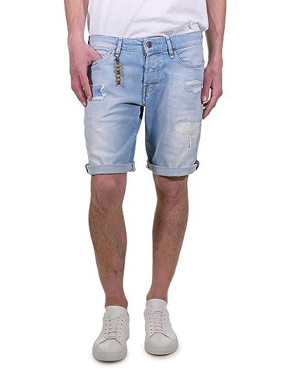 649024b6142c Guess Men s Shorts Blue Blue Jeans - Blue - 11.5  Amazon.co.uk  Clothing