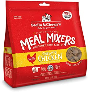 Stella & Chewys Freeze Dried Chicken Meal Mixer 3.5 Ounce, Pack of 3, 10.5 Ounces total