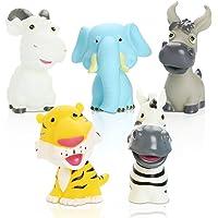 Peradix Giochi da Bagno per Bambini Giocattoli Bagnetto Animali Colori Vivaci (200*130*120MM)