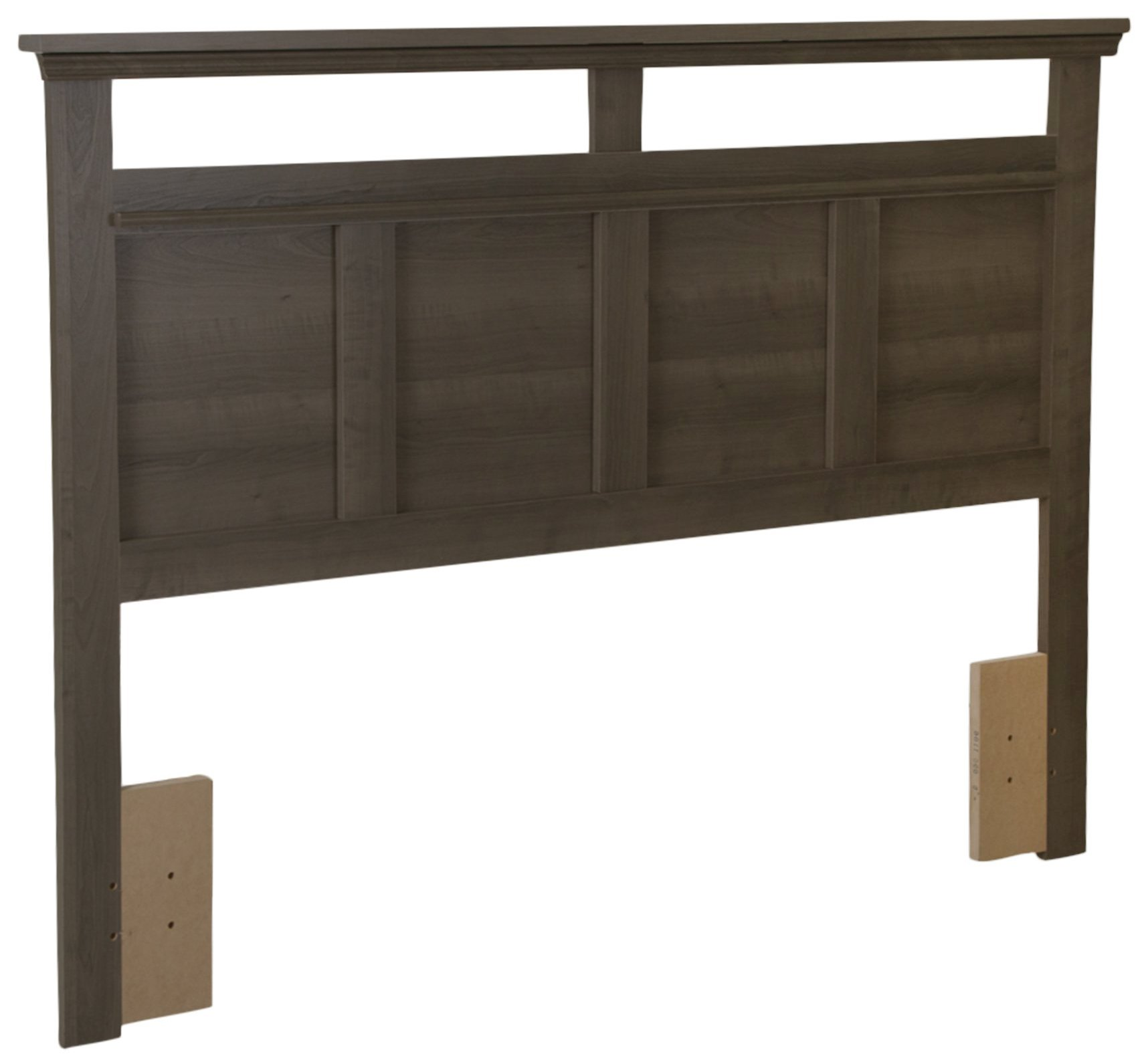 South Shore Versa Headboard, Full/Queen 54/60-Inch, Gray Maple