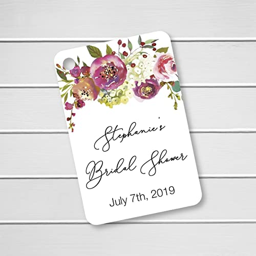 penelope personalized floral bridal shower favor tags rr 379 015