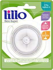Bico Super Silicone, Lillo do Brasil, Transparente