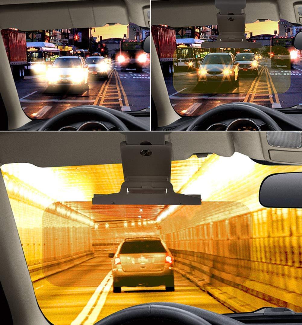 2019 Updated Day//Night Driving Visor Sunshade Mirror Goggles Shield D/&N Car Sun Visor Extender Anti Glare Blocker