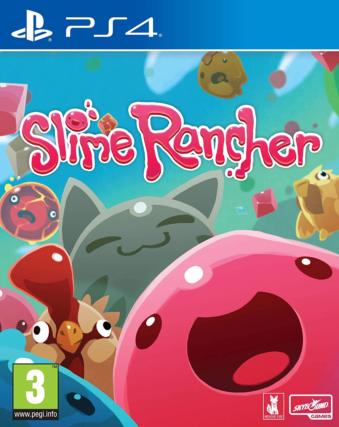 Amazon Com Slime Rancher Ps4 Video Games