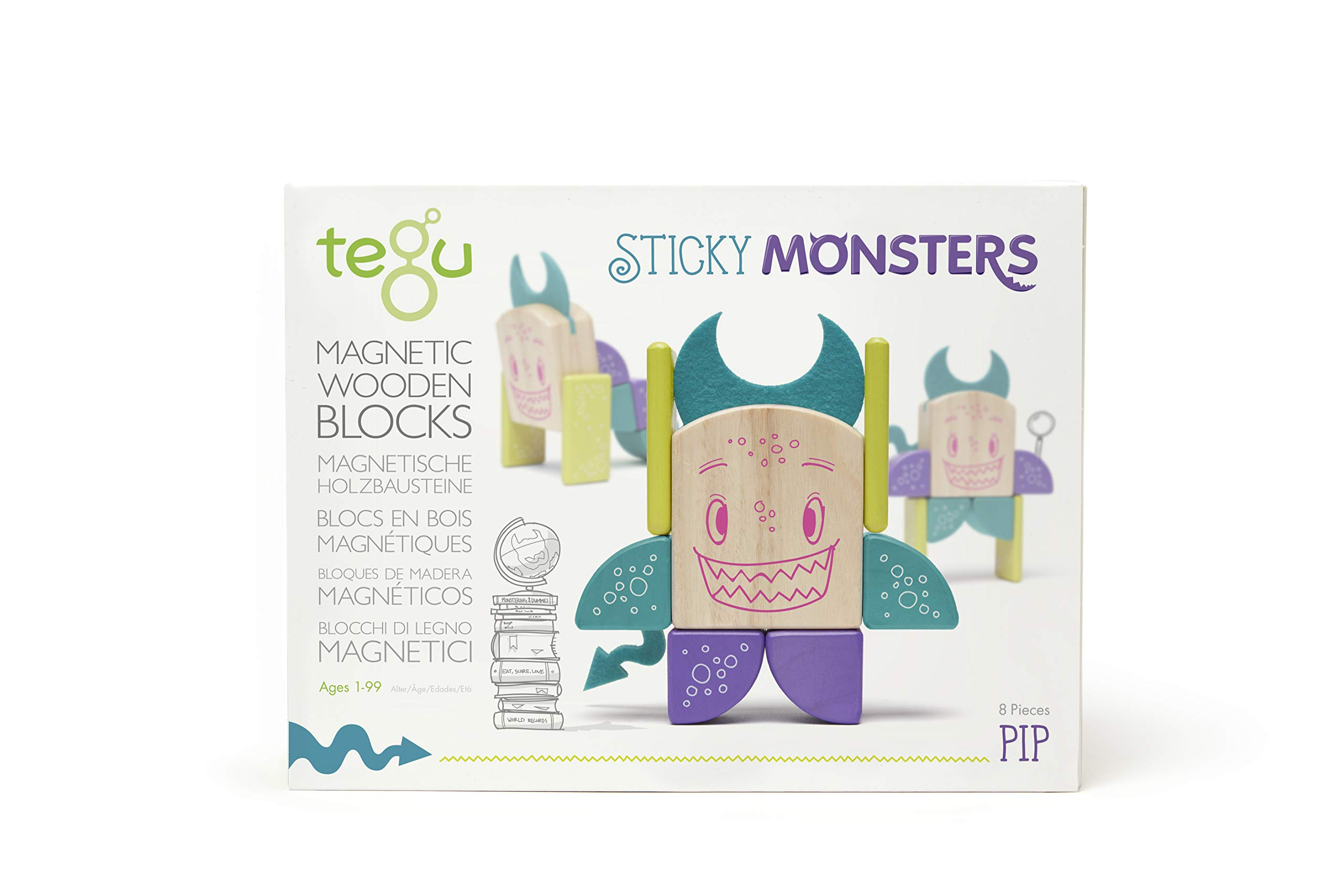Tegu Pip Magnetic Wooden Block Set