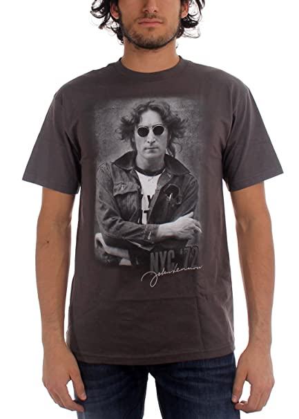 Image Unavailable. Image not available for. Color  John Lennon - NYC 72 T- Shirt aac20d4078a