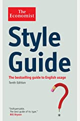 The Economist Style Guide Paperback