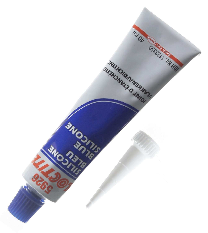Loctite 1831778 1126639 5926 - Junta de silicona (40 ml), color azul