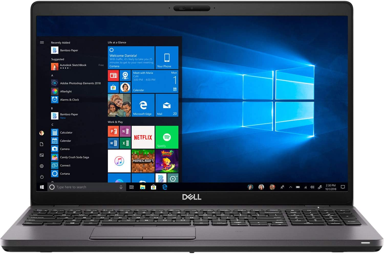 "Dell Latitude 5500 Home and Business Laptop (Intel i7-8665U 4-Core, 16GB RAM, 256GB PCIe SSD, Intel UHD 620, 15.6"" Full HD (1920x1080), Fingerprint, WiFi, Bluetooth, Webcam, 3xUSB 3.1, Win 10 Pro)"