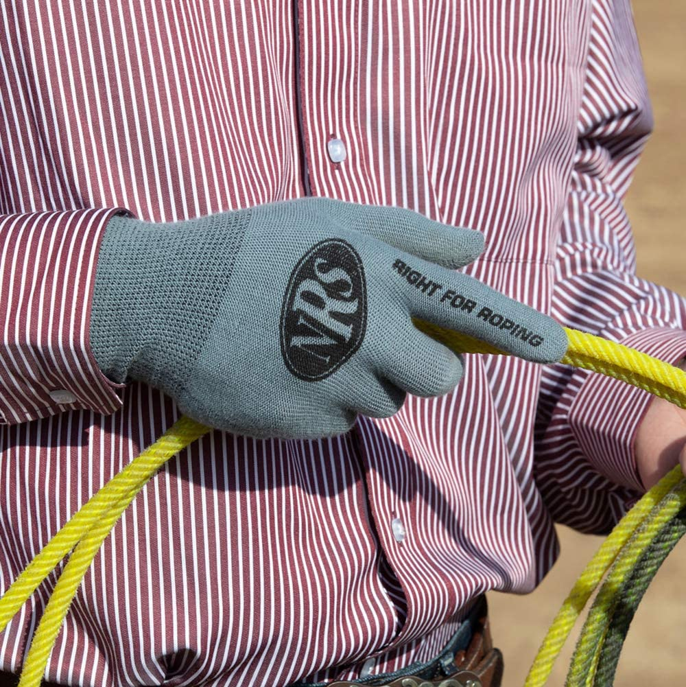 Nrs-Heritage Gloves Fit Roping Gloves 12 Pack