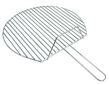 Imex El Zorro 70872 - Parrilla cincada redonda, diámetro 60 cm, color plateado