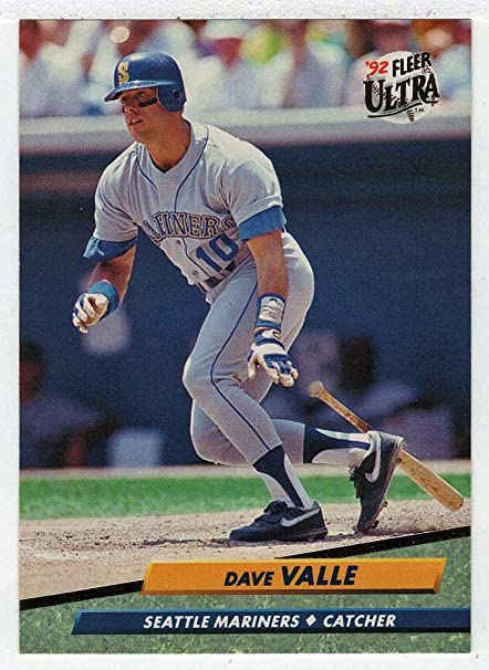Amazoncom Dave Valle Baseball Card 1992 Fleer Ultra