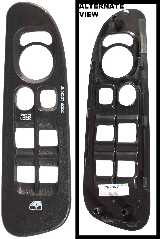 Apdty 5hz71xdvad Power Window Master Switch Plastic 2005 Dodge Ram Door Lock Wiring Diagram Bezel Trim Fits 20002 Pickup 1500 2500 3500 Dark Slate Gray Almost Black