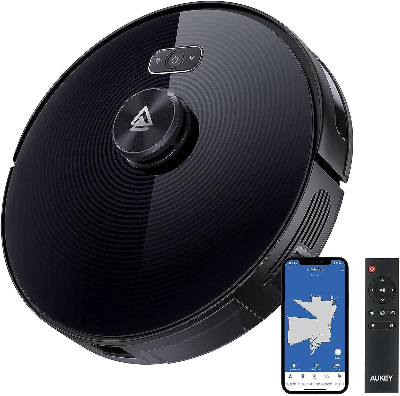 Robot aspirador LiDAR 2 en 1 compatible con Alexa y Google por 139,99€ usando el #código: TMIIYERG