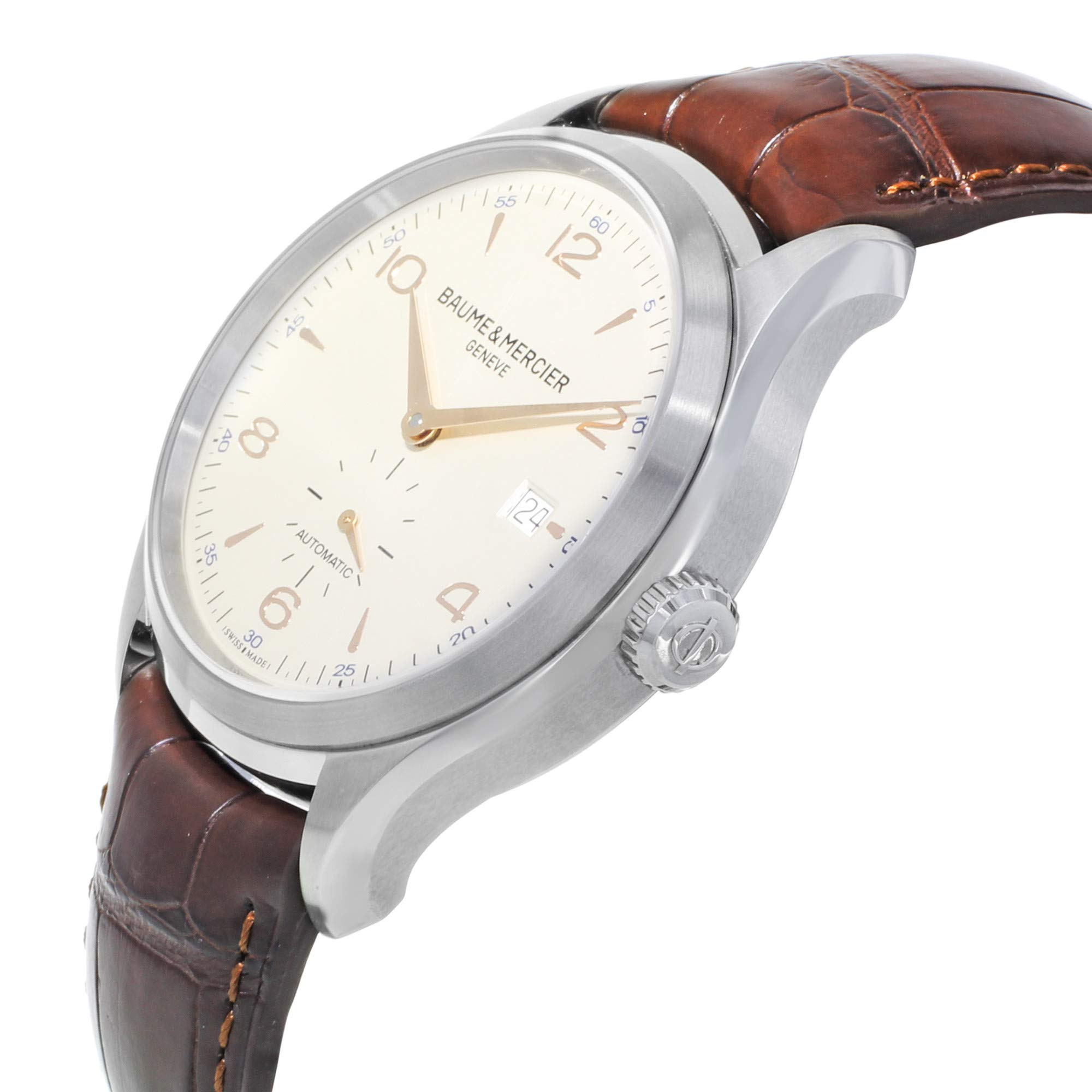 Baume & Mercier Clifton Automatic-self-Wind Male Watch MOA10054 (Certified Pre-Owned) by Baume & Mercier (Image #3)