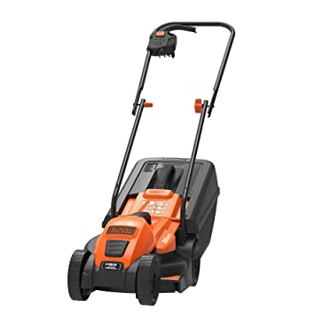 Black & Decker EMax32 - Cortacésped (Cortacésped manual, 32 cm, 2 cm,