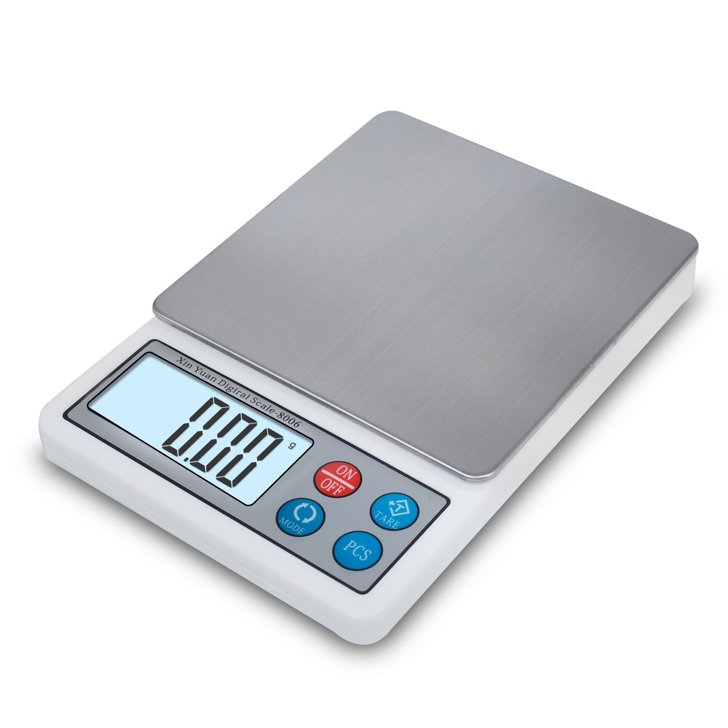 Digital Scale, Toprime 600g 0.01g Elite Series Kitchen Pocket Weight Scale,Gray TDS-806-A