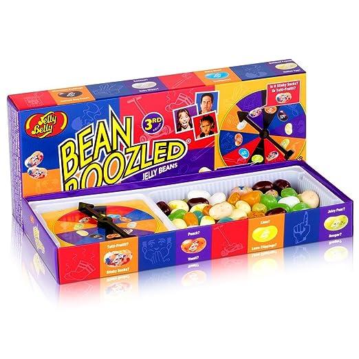 Holland Plastics Original Brand Paquete de Regalo Beanbozzled! 4ta edición ¡Habas de Jalea Completas con el hilandero! Caramelo y Juego en Todo en uno ...