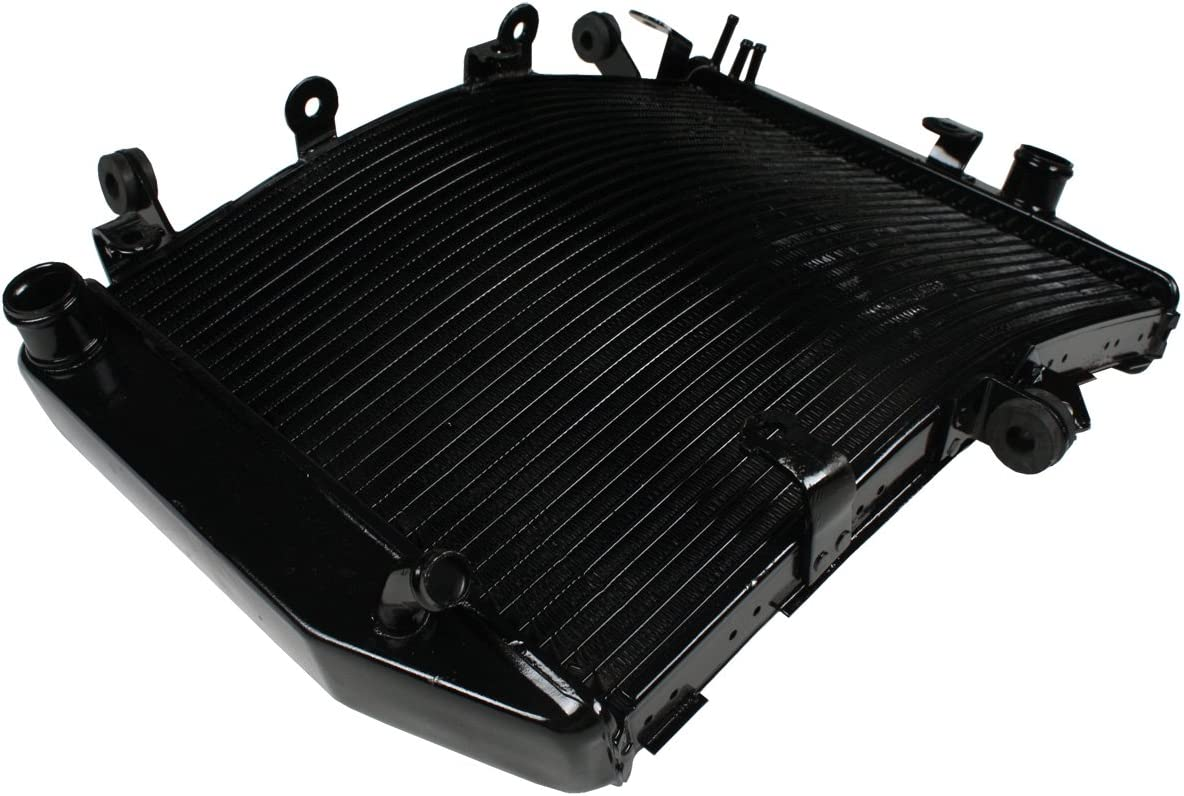 XMT-MOTOR Motorcycle Radiator Compatible for Yamaha YZF-R6 2003-2004 YZF-R6S 2006-2010