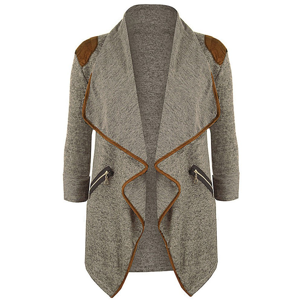 Women Coats Plus Size Oversized Knitted Casual Long Sleeve Tops Cardigan Jacket Outwear Jackets Overwear
