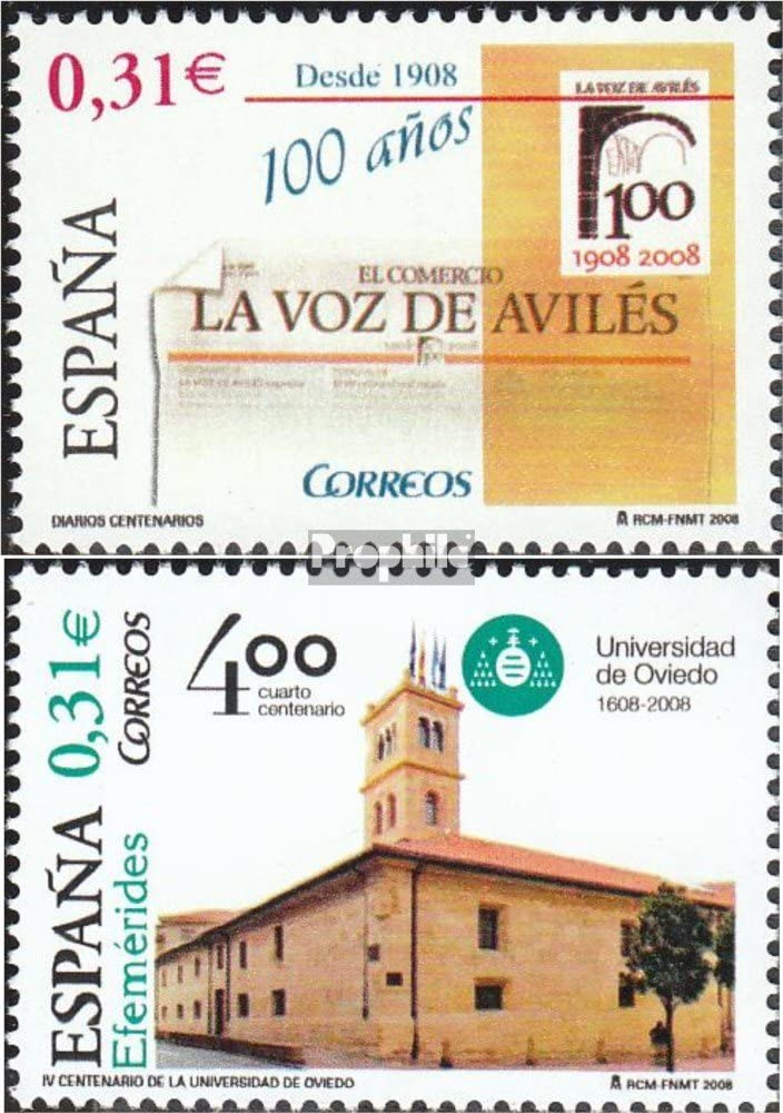 Prophila Collection España 4291,4305 (Completa.edición.) 2008 Prensa La Voz de Aviles, Oviedo (Sellos para los coleccionistas): Amazon.es: Juguetes y juegos